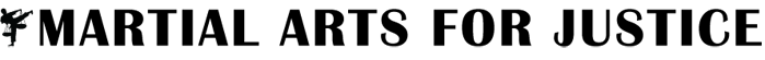 Martial Arts For Justice Logo